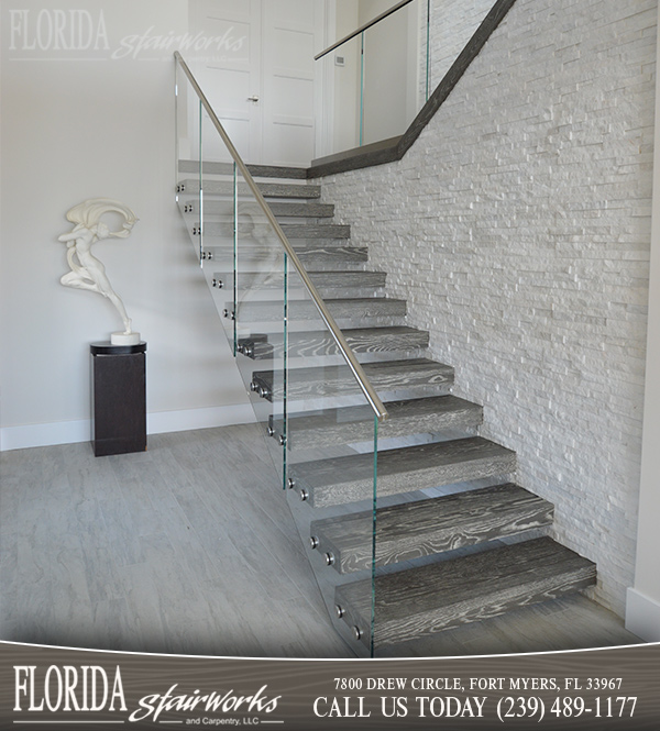 Modern Stairways in West Palm Beach Florida
