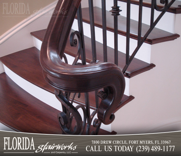 Stairway Handrails in West Palm Beach Florida